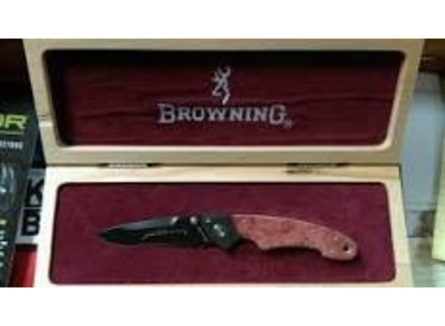 Browning 125 Year Commemorative Presentation Grade Knife