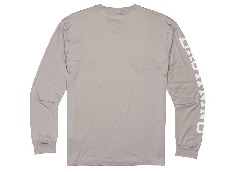 Browning Sun Shirt Light Grey Mens