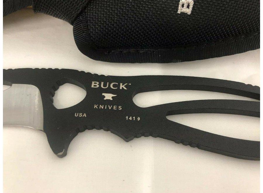 Buck Knives 141 Paklite® Large Skinner Black Fixed Blade Knife 141BKS-B