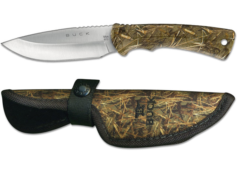 Buck Lite Max 0673CMS32-B Small Muddy Water Camo, Fixed Blade