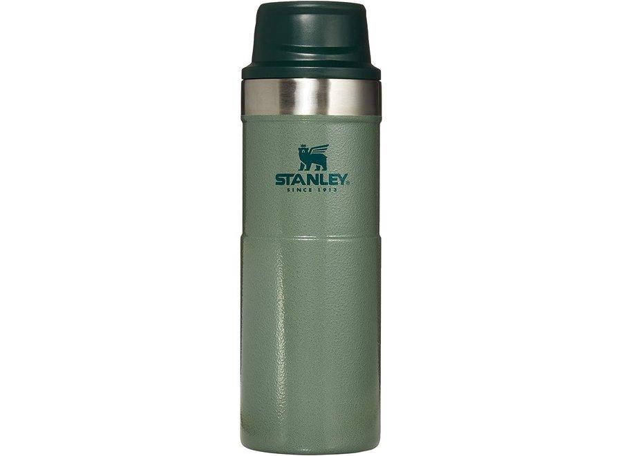 Stanley 16 OZ Classic Green Trigger Action Travel Mug