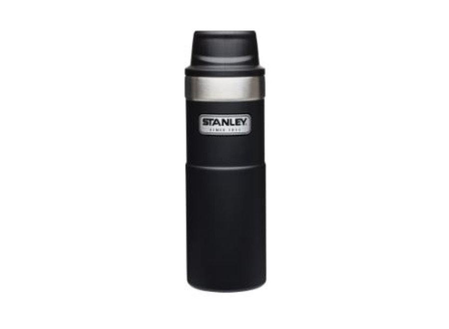 Stanley 16 OZ Classic Black Trigger Action Travel Mug