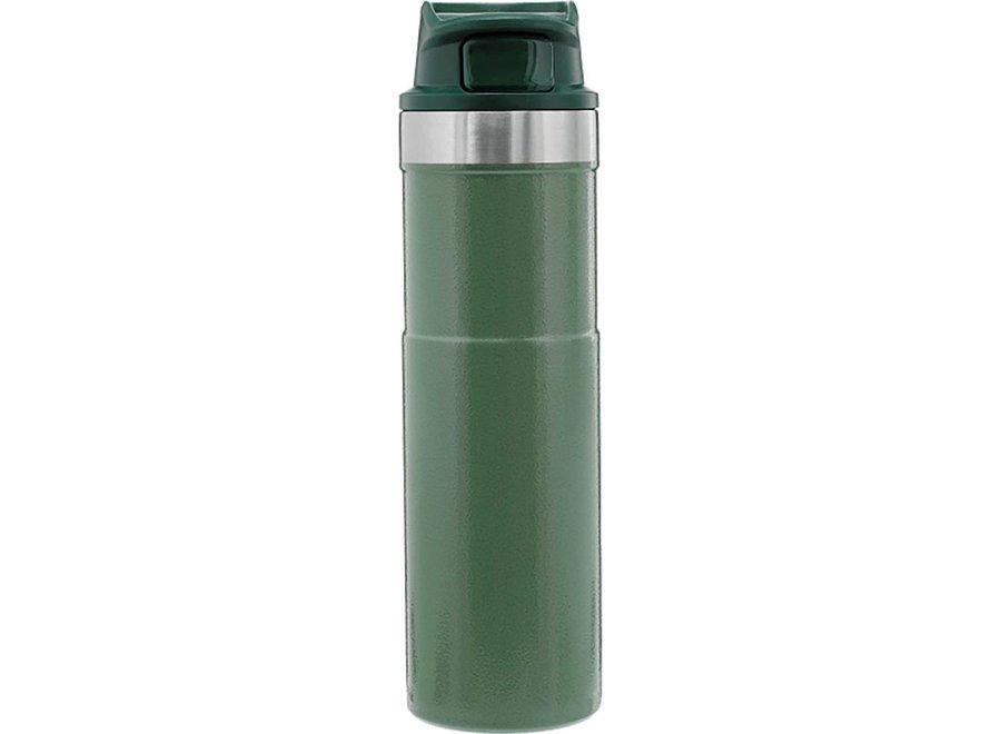 Stanley 20 OZ Classic Green Trigger Action Travel Mug