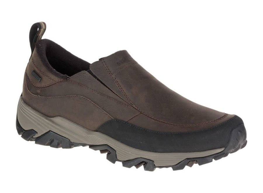 Merrell Coldpack Ice+ Moc Waterproof Brown Mens