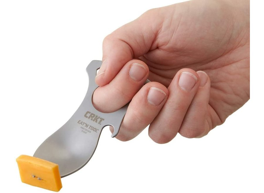 CRKT Eat'N Tool Outdoor Spork Multitool Silver