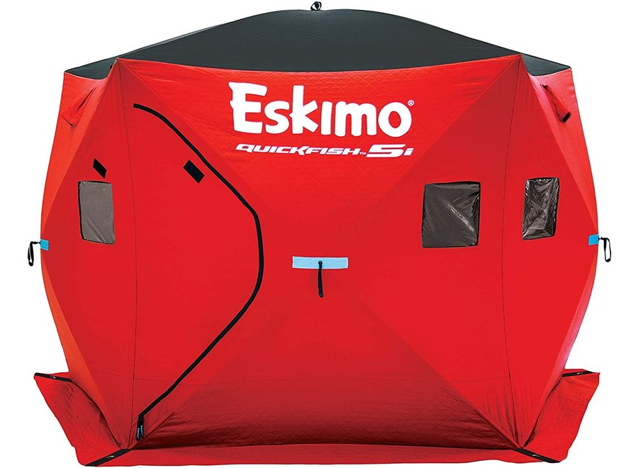 Eskimo Quickfish 5i Insulated Pop-Up Ice Shelter 5-6 person