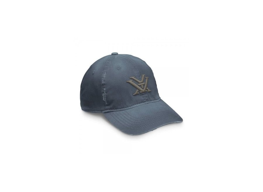Vortex Caps Distressed Navy Denim
