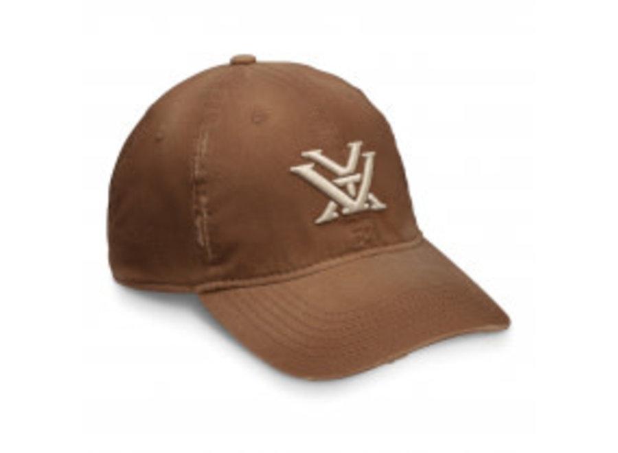 Vortex Caps Distressed Brown