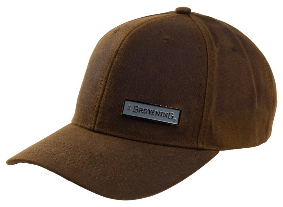 Browning Cap Badger Wax Brown