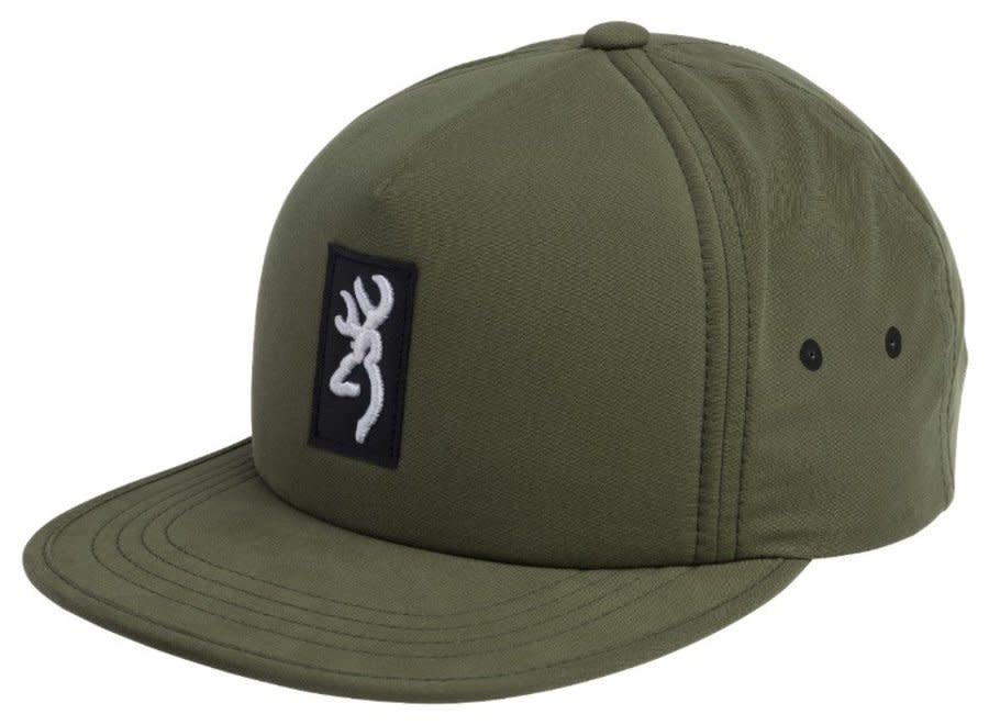 Browning Caps Warden Olive, Snapback