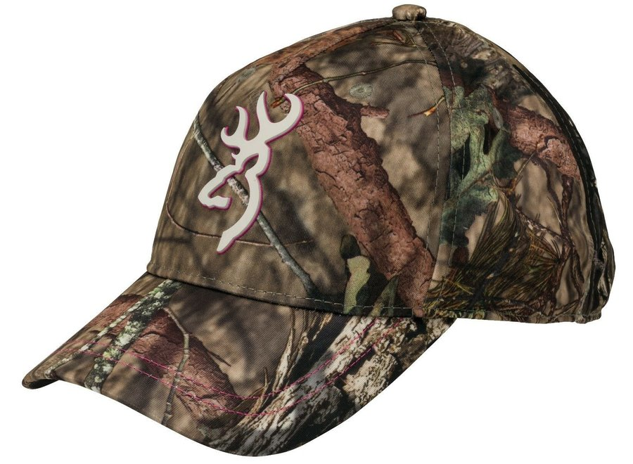 Browning Caps Womens Trail Realtree Pink
