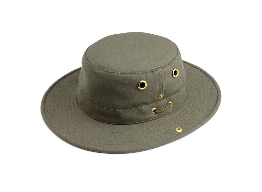 Tilley T3 Hat Khaki Olive SZ 7 1/2