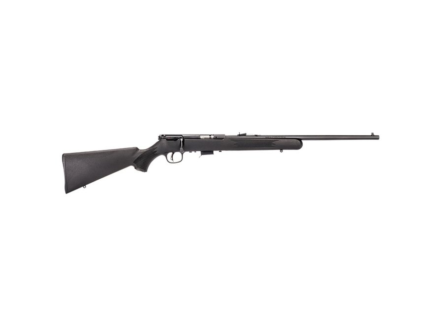Savage 93 F Bolt Action Rifle 22 WMR, 21 in, Satin Blued, Syn