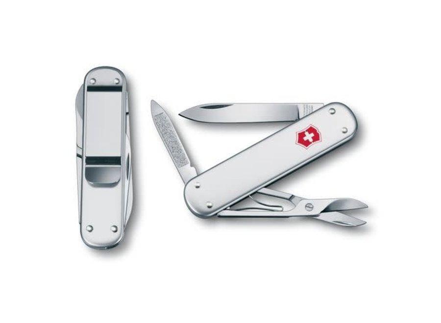Victorinox Money Clip Silver Alox Knife