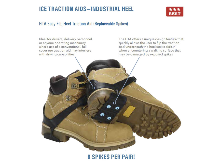 Ice Grips, Due North Heel Traction Aid O/S