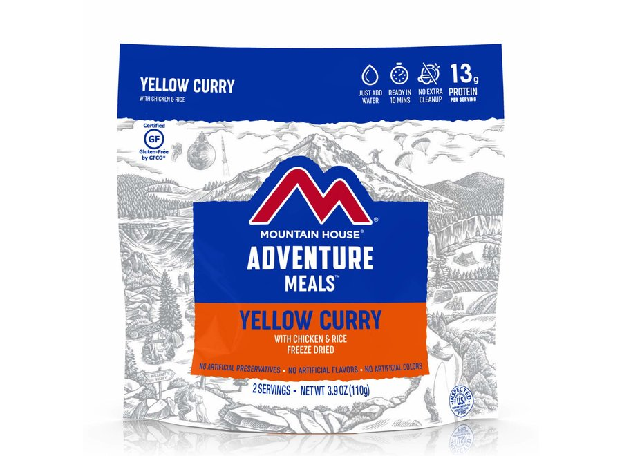 Mountain House Yellow Curry w/Chicken and Rice Gluten Free