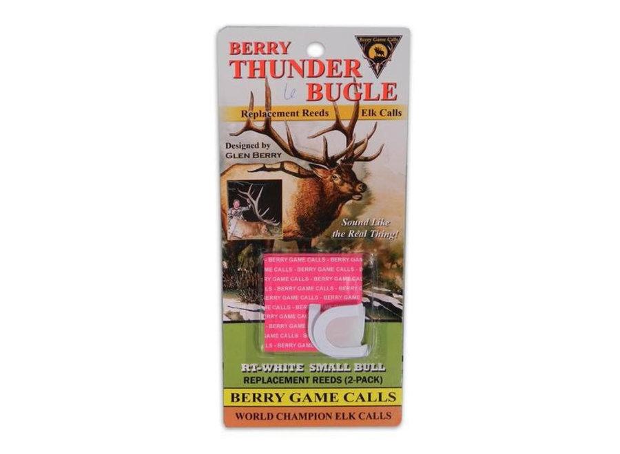 Berry Thunder Bugle White Sm Bull Reeds