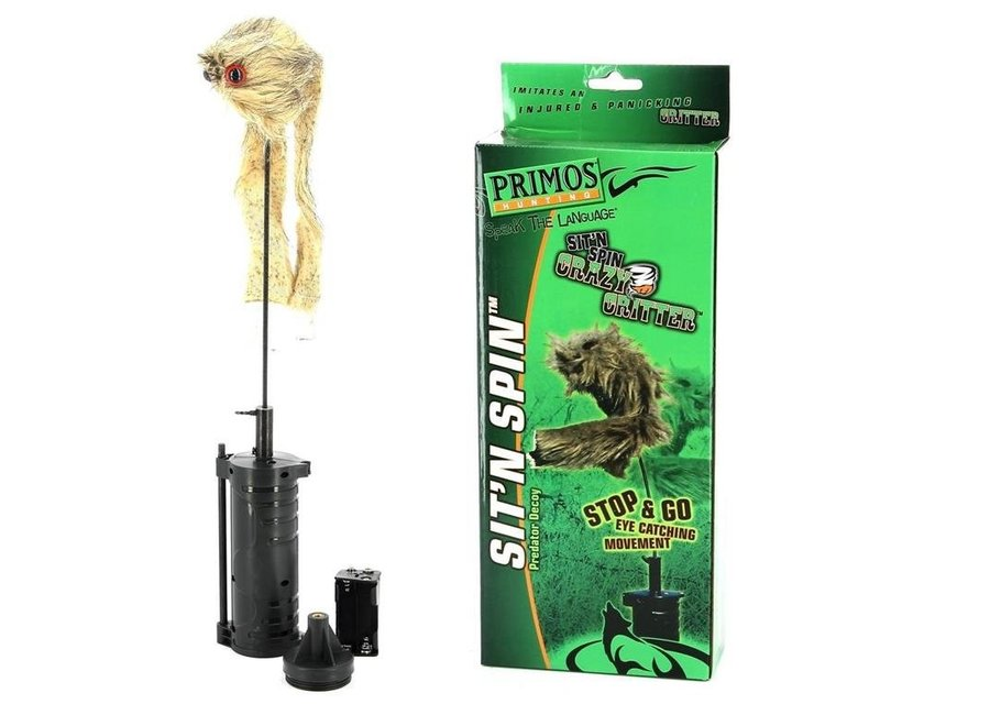 Primos Crazy Critter Sit and Spin