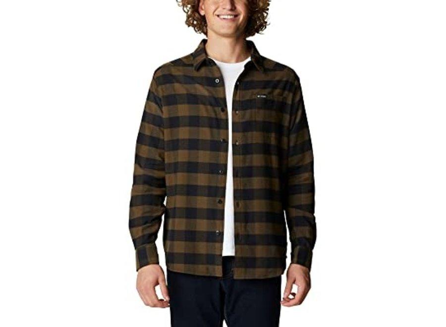 Columbia Cornell Woods Mens Flannel LS Shirt