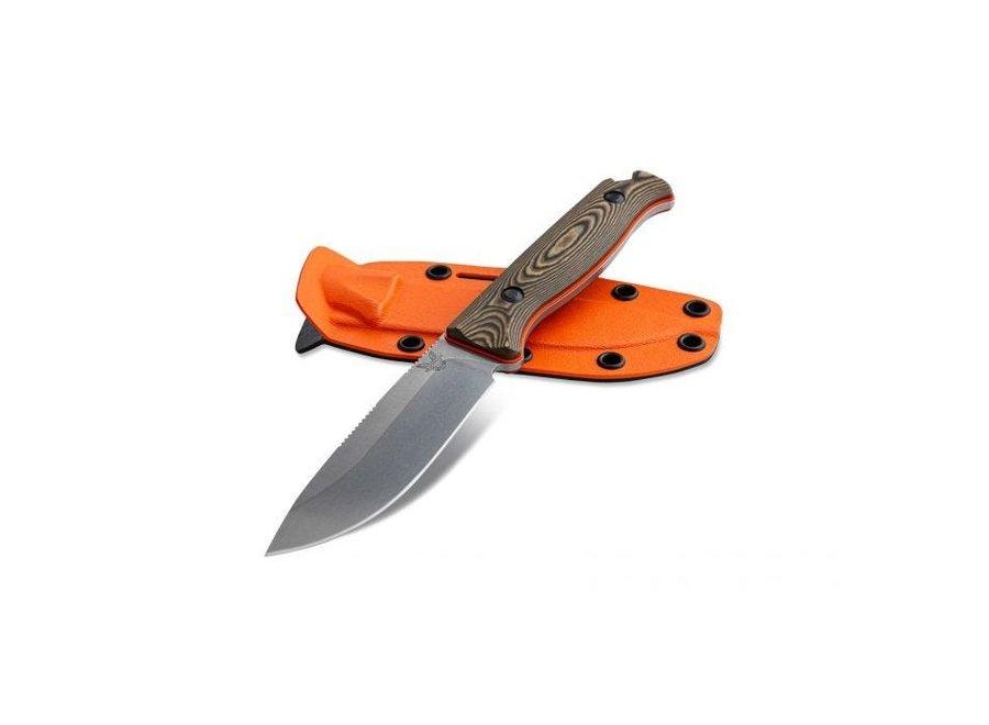 Benchmade Knives Saddle Mountain Skinner, FB, Richlite