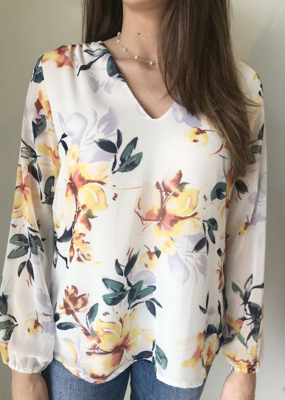 Veronica M Belinda Floral Blouse