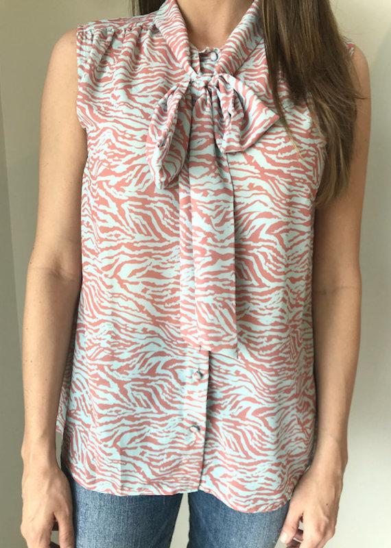 Elizabeth Crosby Lily Tie Blouse