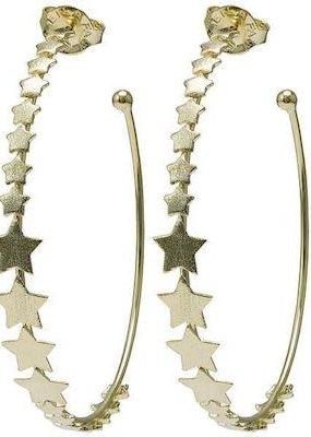 Sheila Fajl Small Altair Star Hoop