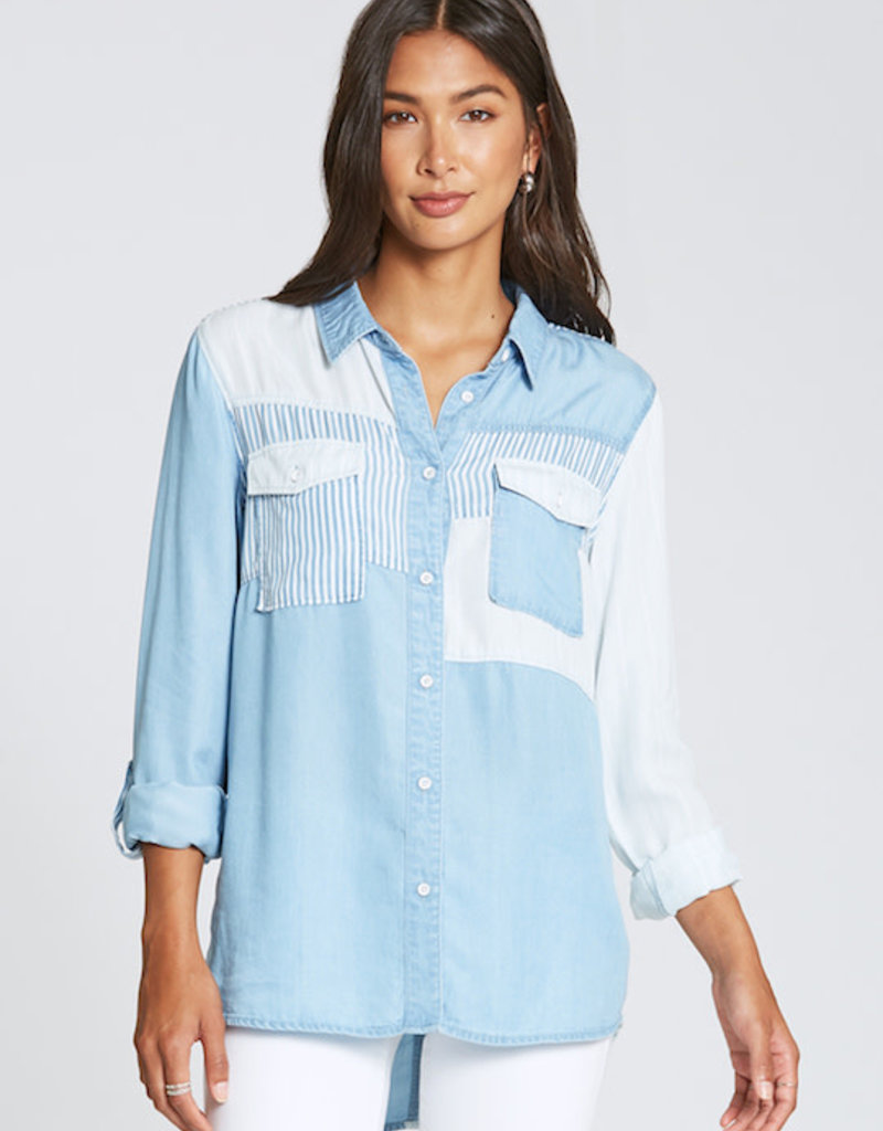 Dear John Cindy Pieced Chambray
