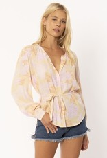 Amuse Society Sheana Tropic Blouse