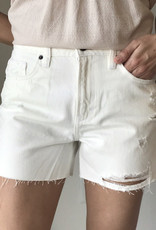 Hidden Distressed Mom Short