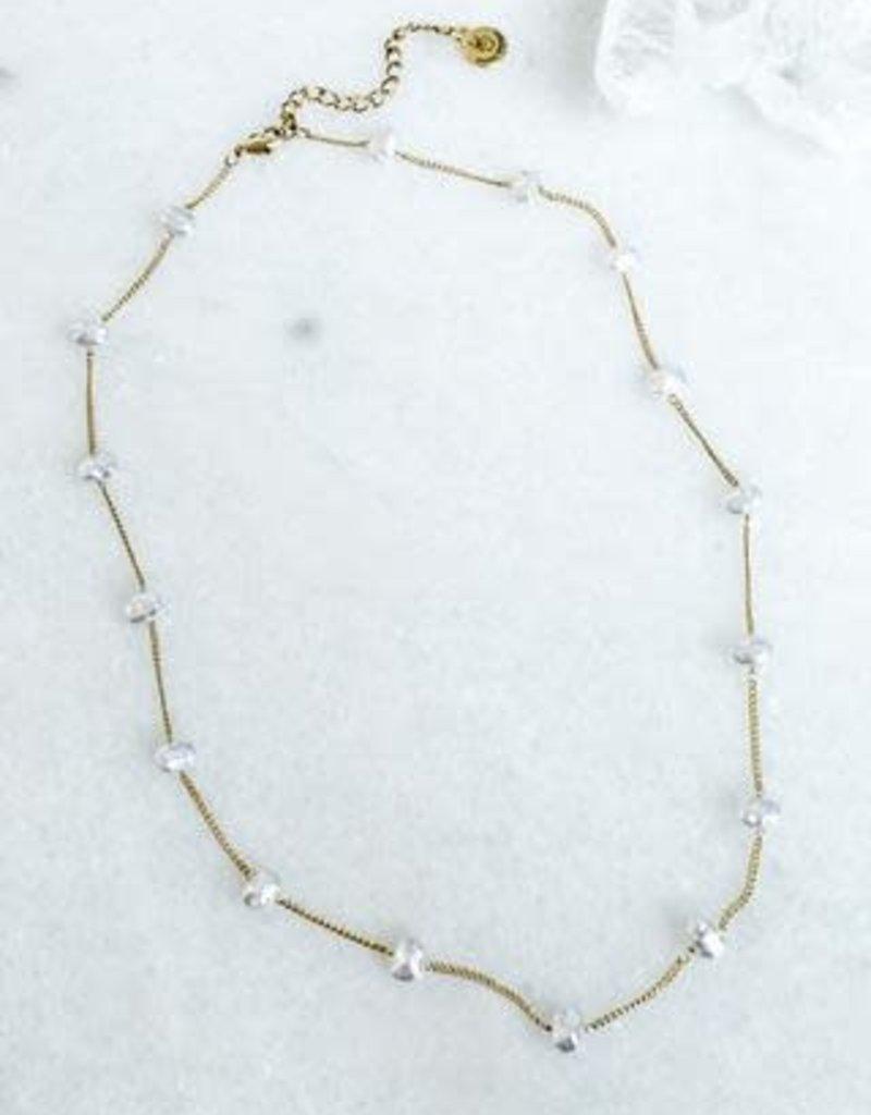 Adalee Pearl Necklace