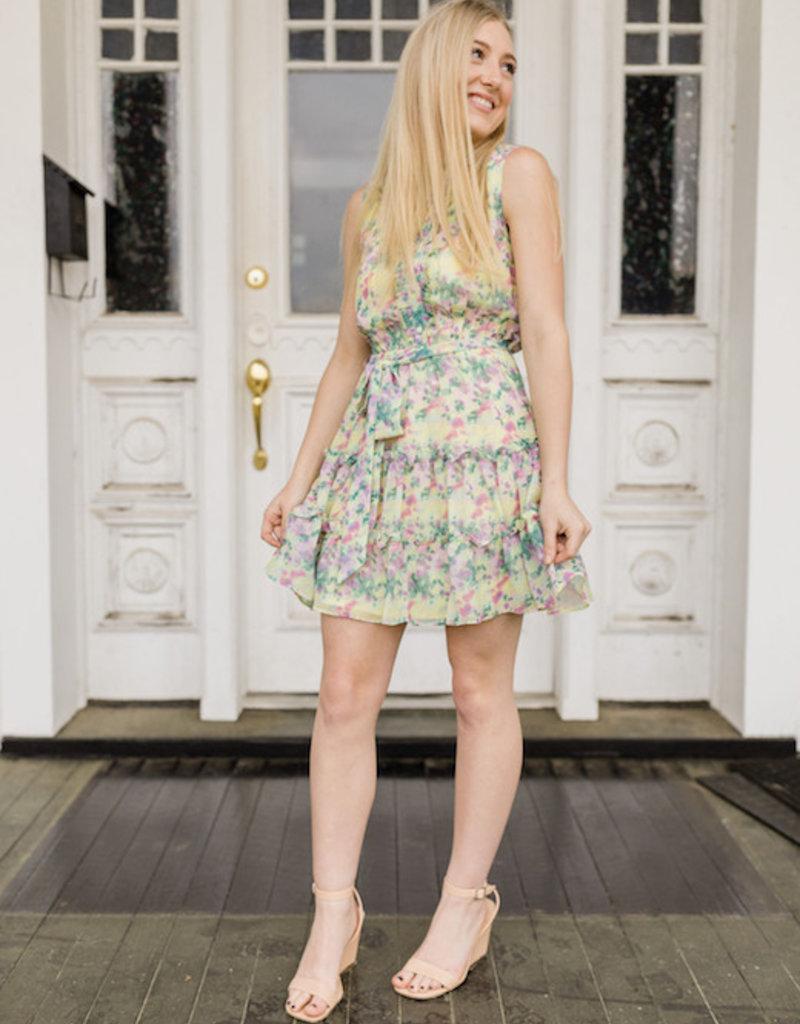 Barcelona Floral Dress