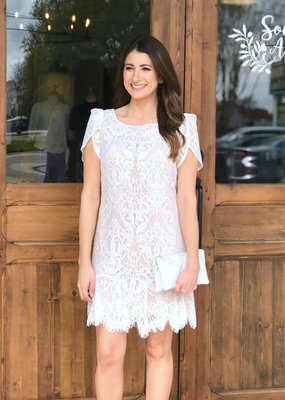 BB Dakota Fast Lace Dress