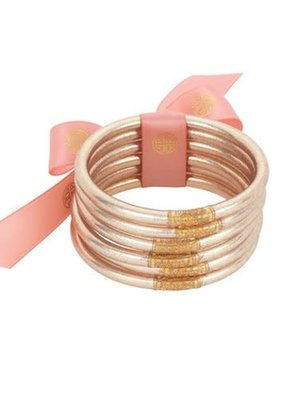Budha Girl All Weather Champagne Bangles