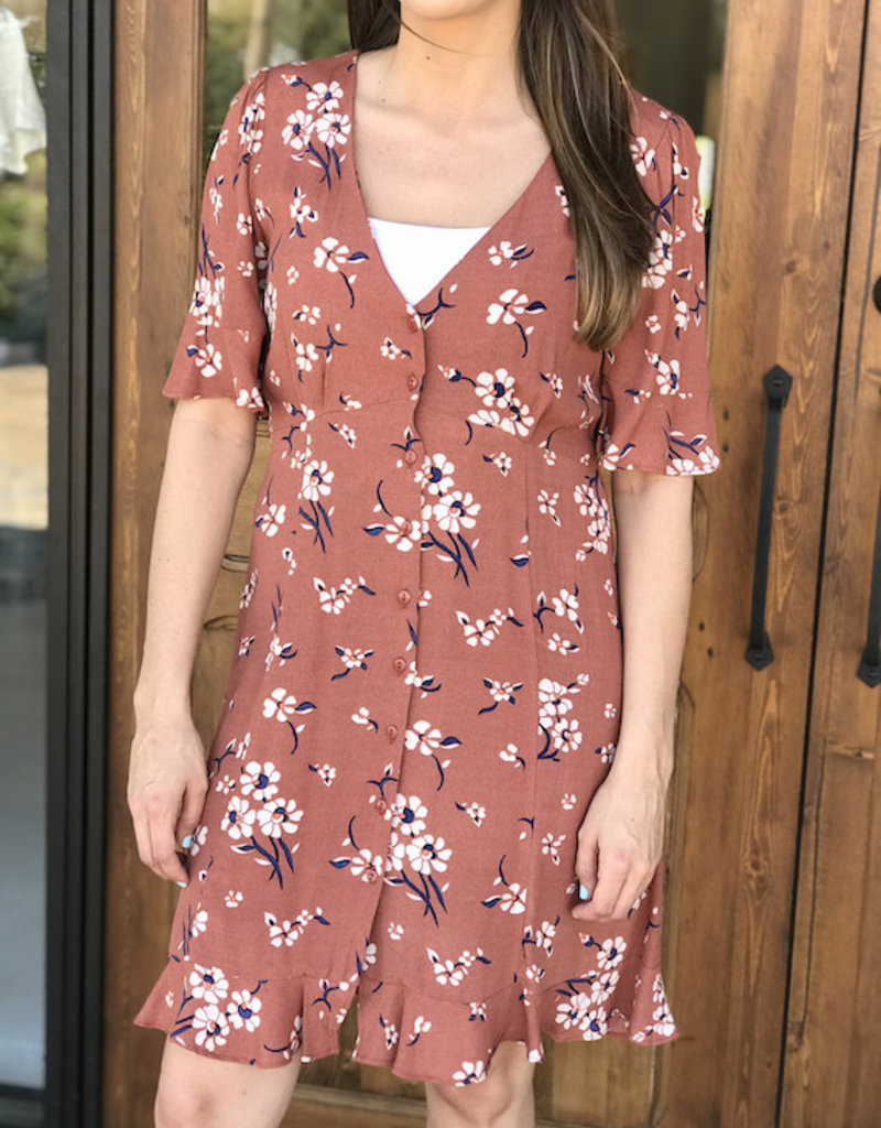 Joane Floral Dress