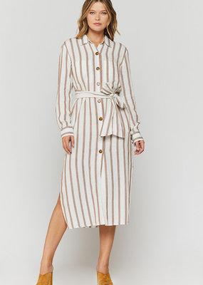Velvet Heart Joselle Stripe Duster Dress
