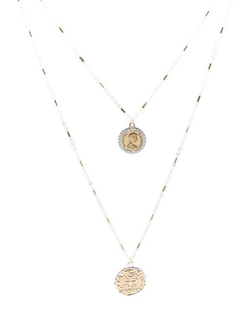 Queen Layered Long Necklace