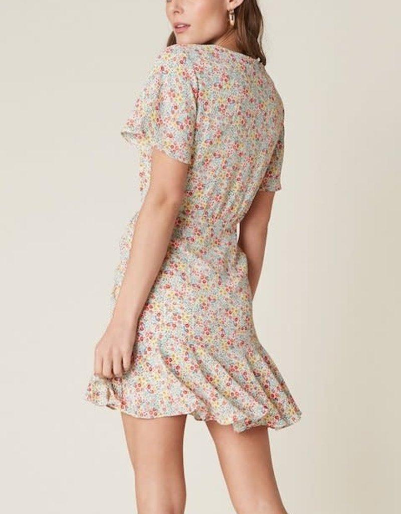BB Dakota Flower On Dress