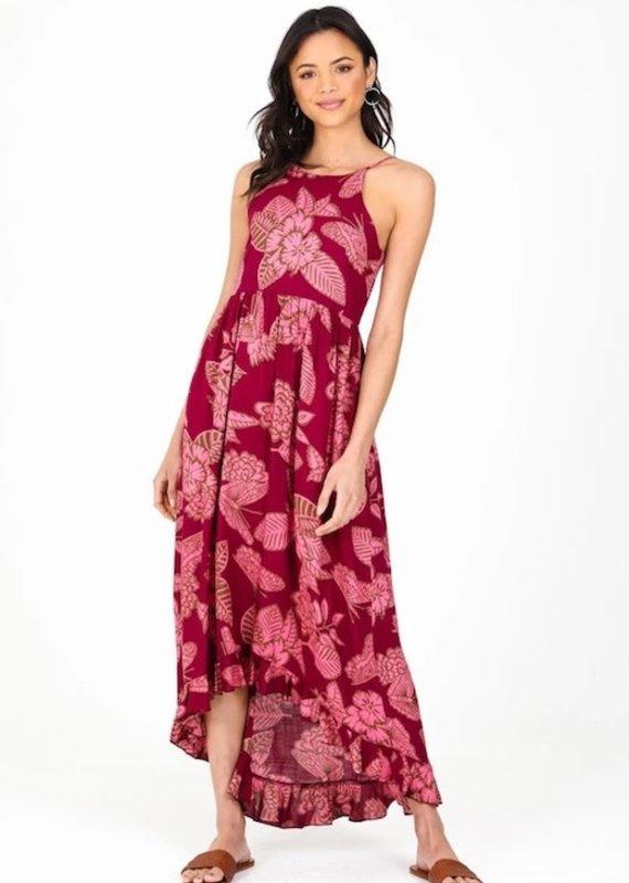 Orchid Hi-Lo Maxi Dress