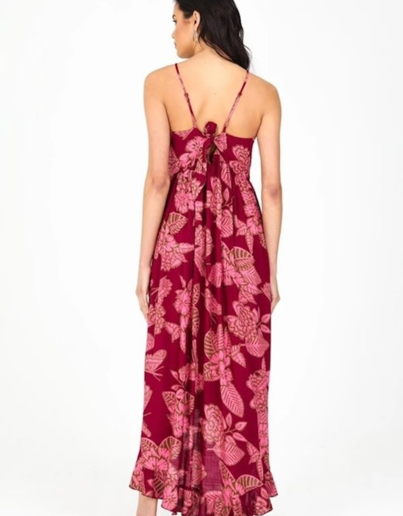 Orchid Hi-Lo Maxi Dress