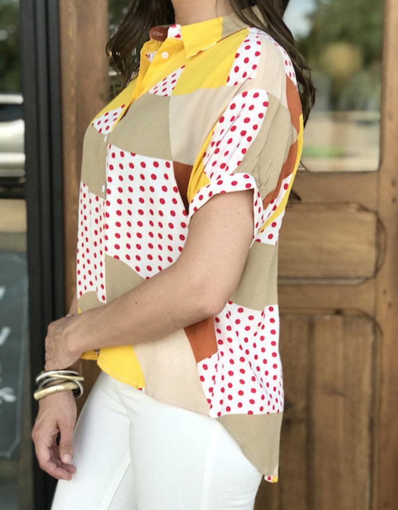 Camisa Pattern Blouse
