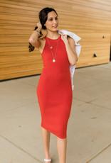 Firecracker Bodycon Dress