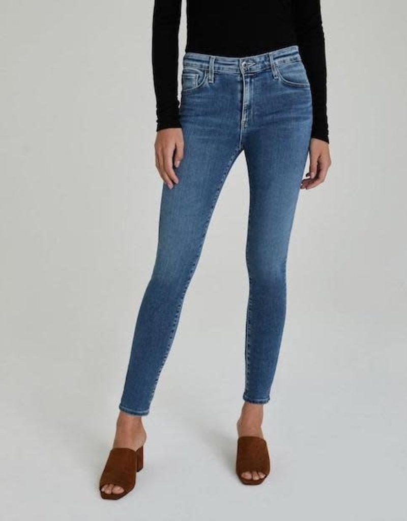 AG Jeans Farrah Skinny Ankle Mastic
