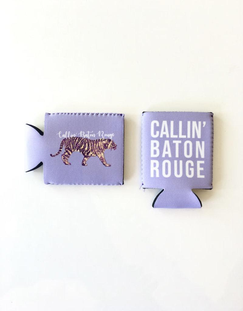 Callin' Baton Rouge Regular Can Koozie