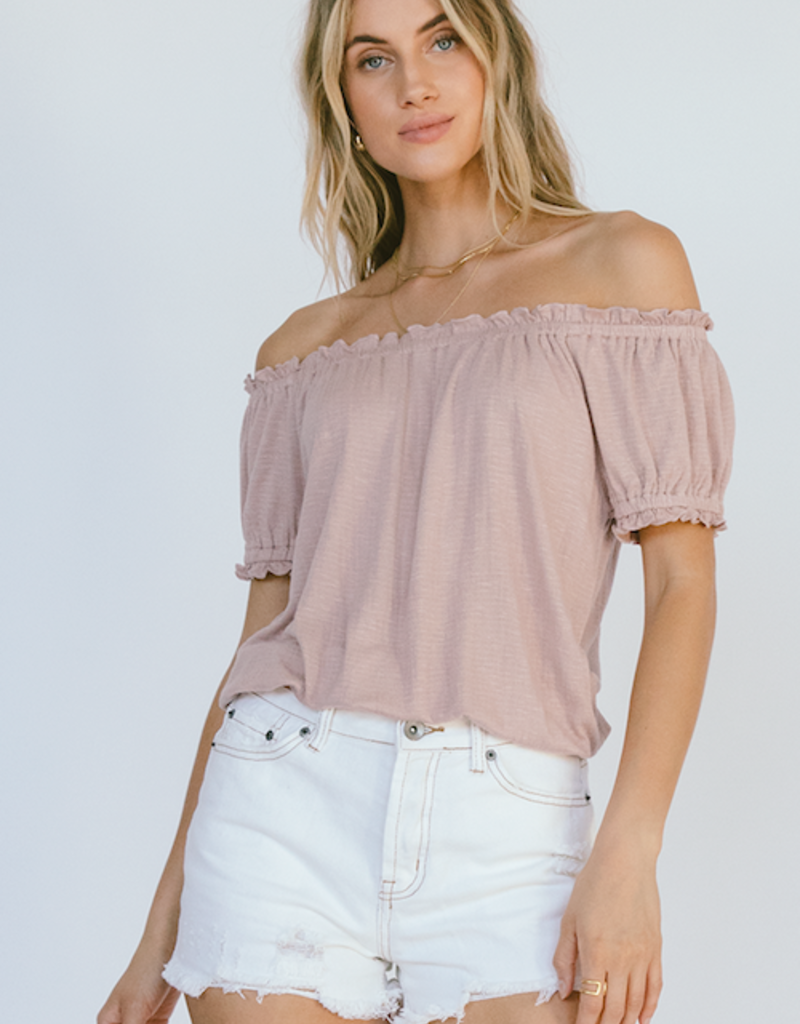 White Crow Merced Off Shoulder Top