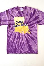Callin' Baton Rouge Tie Dye Tee