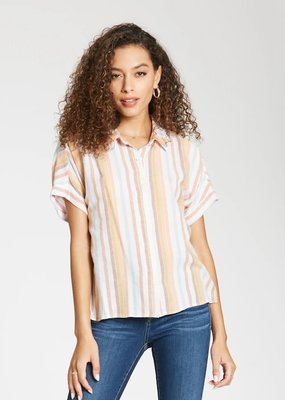 Dear John Letoya Stripe Blouse