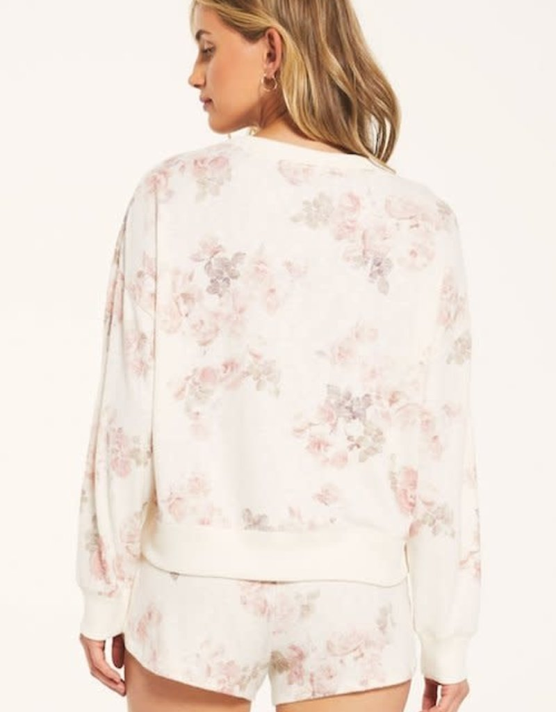 Z Supply Elle Floral Long Sleeve