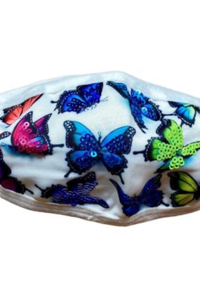 Sparkle City Bling Butterfly Kids Mask