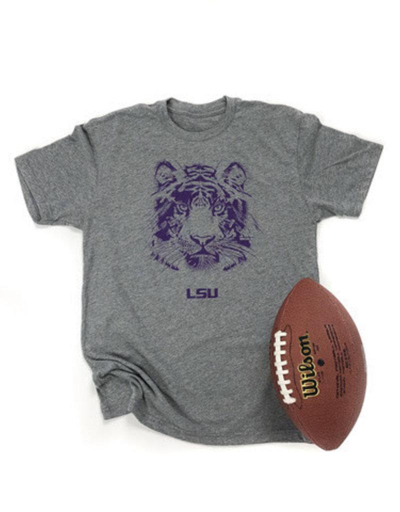 LSU Tiger Face T-Shirt